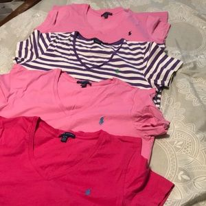 Ralph Lauren shirt bundle EUC